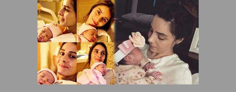 Nur Fettahoğlu bebeğinin yüzünü ilk kez gösterdi