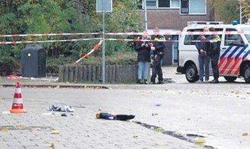 Polis, kadını vurarak durdurdu