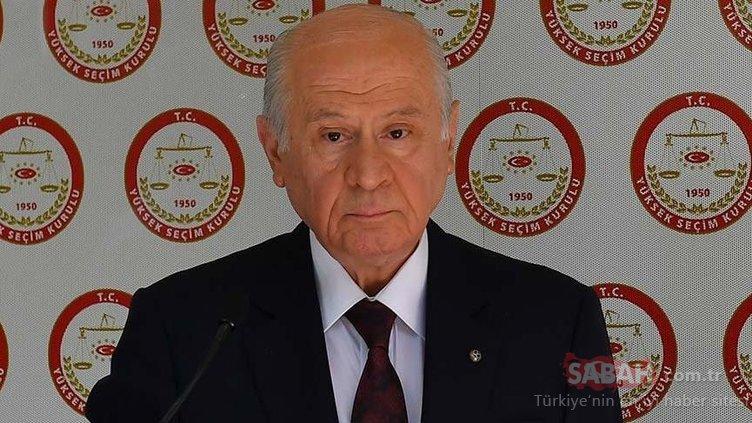 MHP'nin milletvekili aday listesi belli oldu!