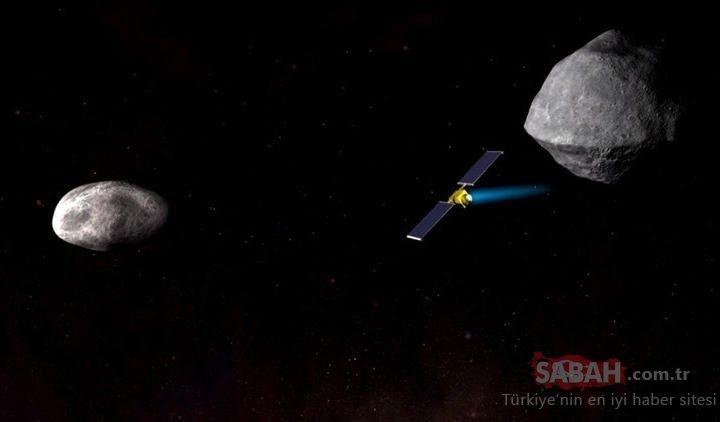 NASA asteroid'lere karşı bu silahı kullanacak!
