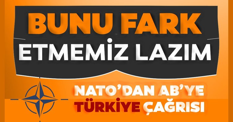 Son dakika: NATO'dan AB Liderler Zirvesi'ne Türkiye çağrısı: Bu gerçeği fark etmemiz lazım!