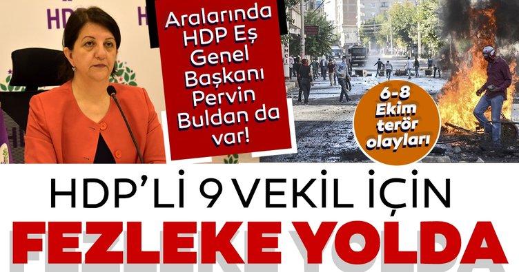 SON DAKİKA: Pervin Buldan ve 8 HDP'li vekil için fezleke yolda! Dokunulmazlıklarının kaldırılması isteniyor