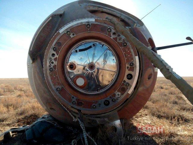 Soyuz'un fırlatılışında kaza