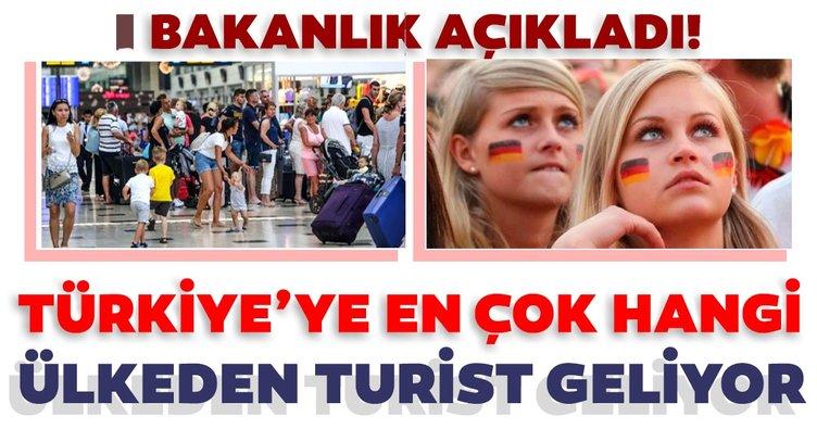 Türkiye, turizmde 8 ayda 9 milyondan fazla ziyaretçi ağırladı