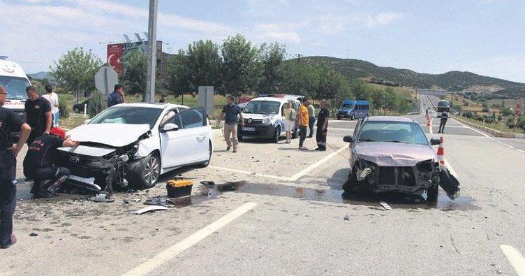 Tatil yolunda 06 kazaları