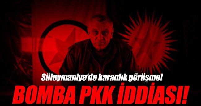 İranlı komutan Süleymani ile PKK elebaşlarından Bayık'ın görüştüğü iddiası