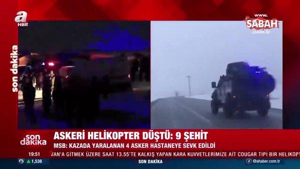 Başkan Erdoğan'dan helikopter kazasında şehit olan askerler için başsağlığı mesajı | Video