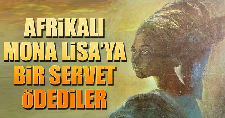 Afrikalı Mona Lisa 6.3 milyon lira etti