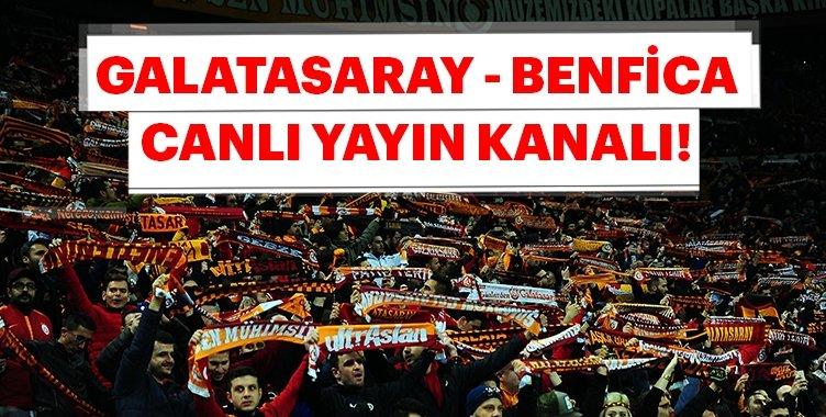 Son dakika haber: Galatasaray Benfica maçı hangi kanalda? İşte Galatasaray Benfica hangi kanalda sorusunun yanıtı