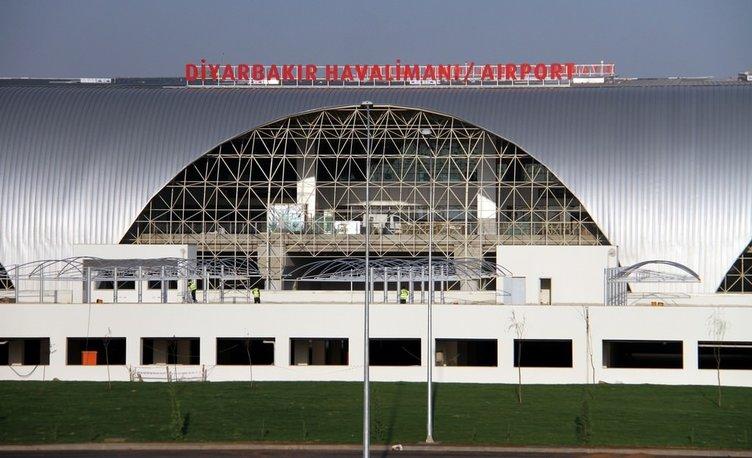 Diyarbakır Havalimanı tamamlandı