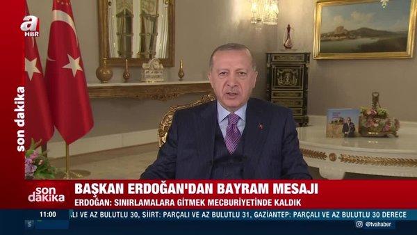 SON DAKİKA: Cumhurbaşkanı Erdoğan'dan bayram sonrası normalleşme açıklaması