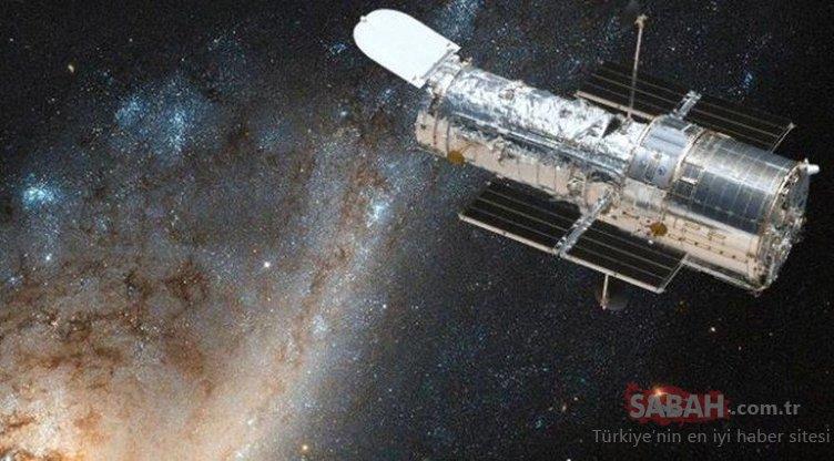 Hubble Uzay Teleskobu'nun Satürn fotoğrafı sanal alemi salladı