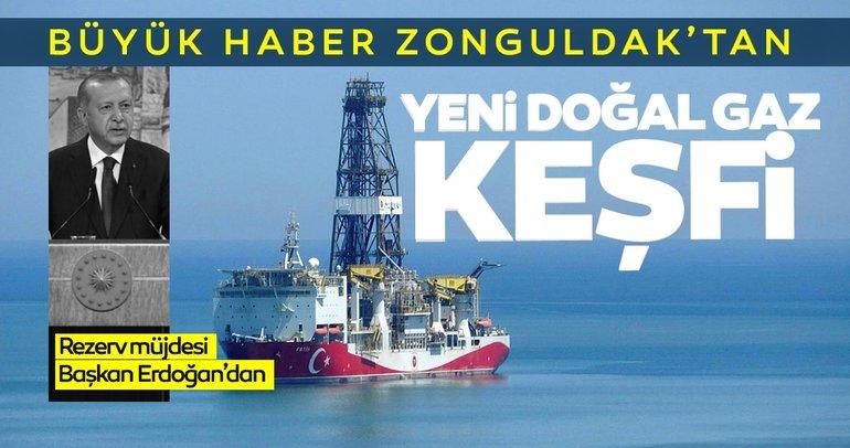 Son dakika haberi: Başkan Erdoğan müjdeyi verdi: Yeni bir doğalgaz rezervi keşfedildi...