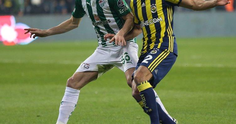 İşte Fenerbahçe - Bursaspor maçı muhtemel 11'leri