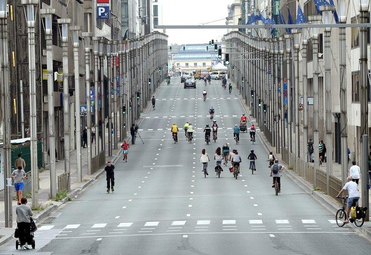 Brüksel'de bugün otomobil yasak!