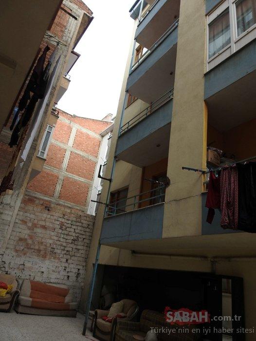 Eşiyle tartışan kadın 5'inci kattan atladı