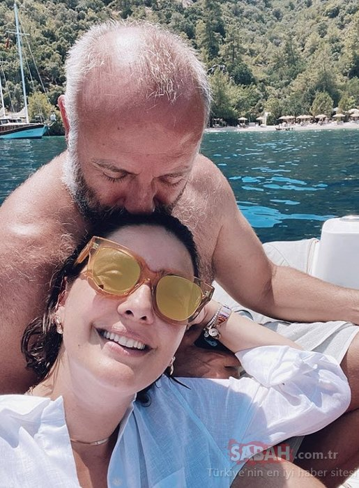Bergüzar Korel'den eşi Halit Ergenç ile aşk pozu! Bergüzar Korel ile Halit Ergenç'in aşk dolu paylaşımına beğeni yağdı...