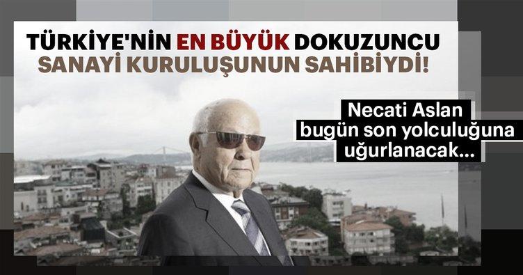 İŞDAŞ'ın patronu Necati Aslan bugün toprağa verilecek!