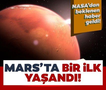 NASA'nın helikopteri Ingenuity, Mars'ta ilk uçuşunu gerçekleştirdi!