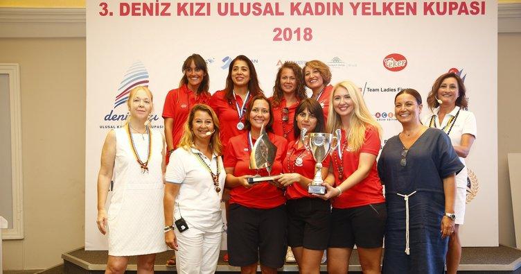 3.Deniz Kızı Ulusal Kadın Yelken Kupası'nda şampiyon belli oldu