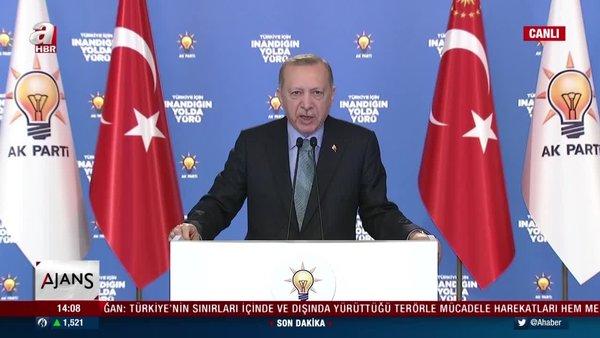 Başkan Erdoğan'dan AK Parti İl Kongreleri'nde önemli açıklamalar | Video