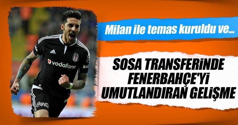 Sosa transferinde Fenerbahçe'yi umutlandıran gelişme
