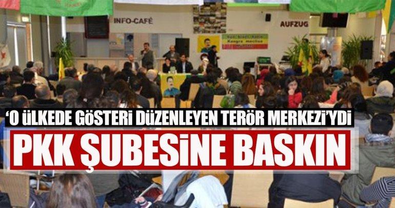 Almanya'da terör örgütü PKK'nın Hannover üssüne baskın
