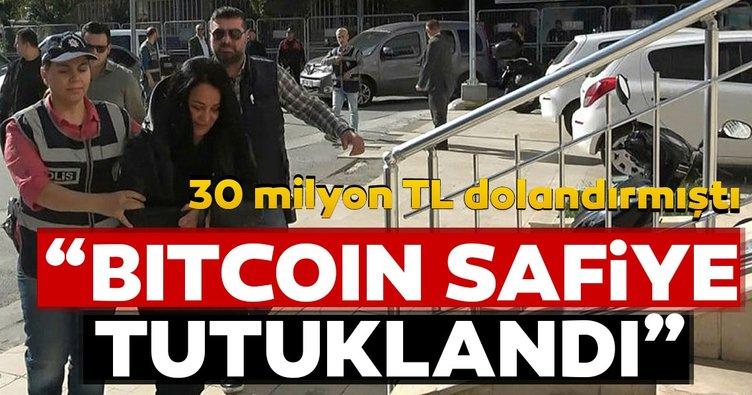 """""""Bitcoin Safiye"""" tutuklandı"""