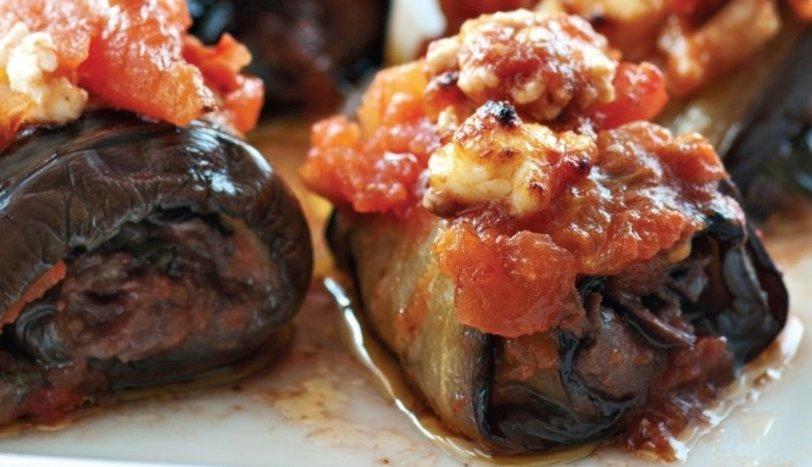 Domatesli Patlıcan Ruloları Tarifi