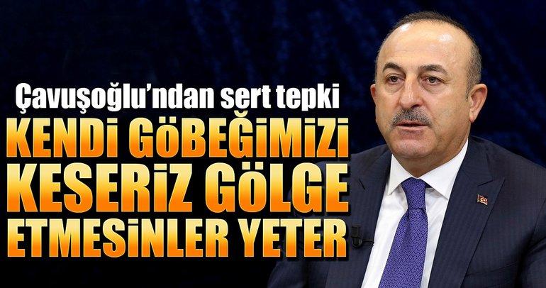 Dışişleri Bakanı Çavuşoğlu: ABD'den beklentimiz gölge etmesinler