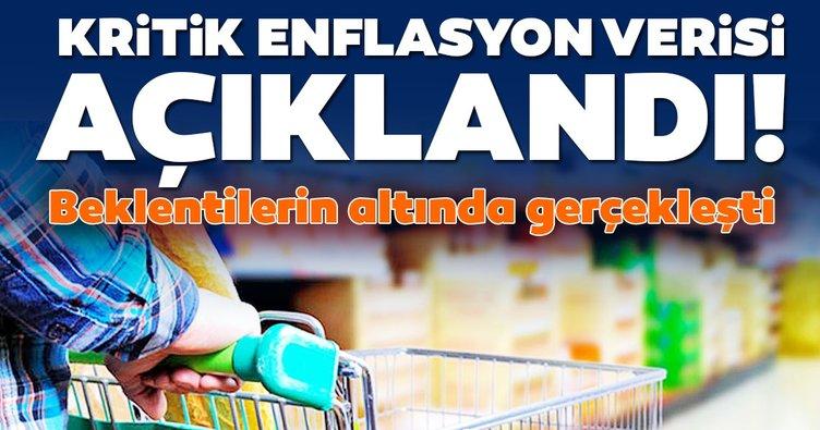 SON DAKİKA HABERİ! Enflasyon oranı açıklandı: Beklentilerin altında gerçekleşti!