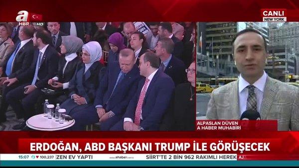 Başkan Erdoğan BM Genel Kurulu'na hitap etmek için New York'ta