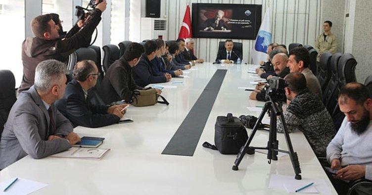 Vali Elban Ağrı'da yapılacak projeleri anlattı