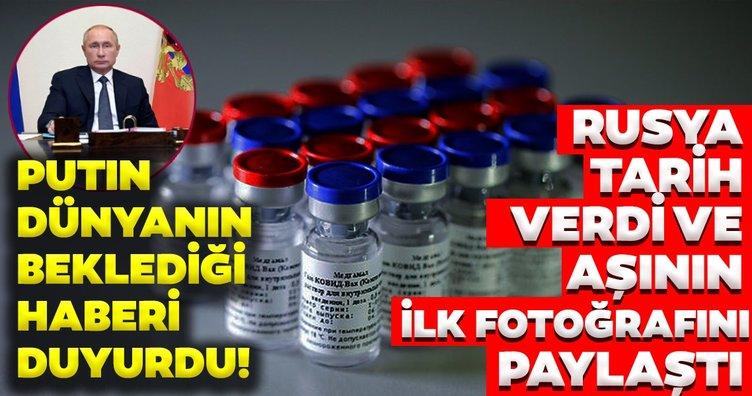 Rusya'dan son dakika coronavirüs aşısı haberi | İlk covid-19 aşısı tescillendi