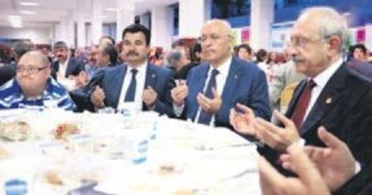 CHP lideri Yenimahalle'de iftar yaptı