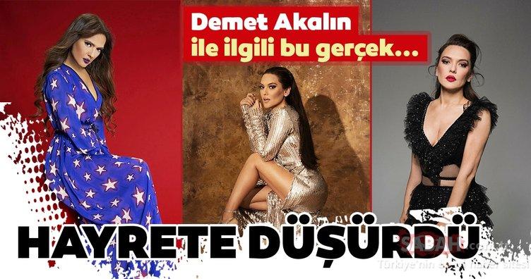 Ünlü şarkıcı Demet Akalın'ın ayakkabı numarası hayrete düşürdü! İşte ünlülerin şaşırtan ayakkabı numaraları…