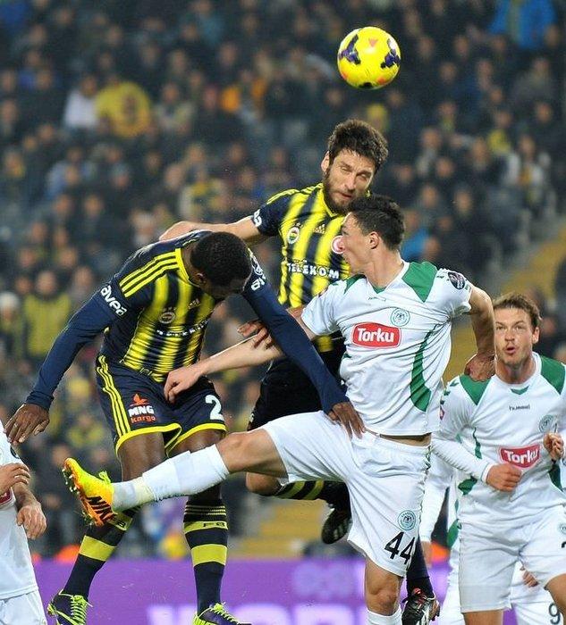 Fenerbahçe - Torku Konyaspor maçından kareler