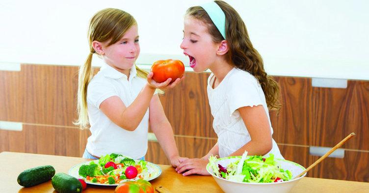 Vejetaryen ailelerin çocukları için beslenme önerileri