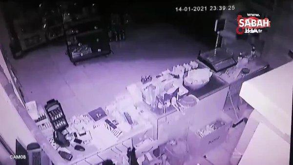Tekel bayi soygunu güvenlik kamerasında | Video