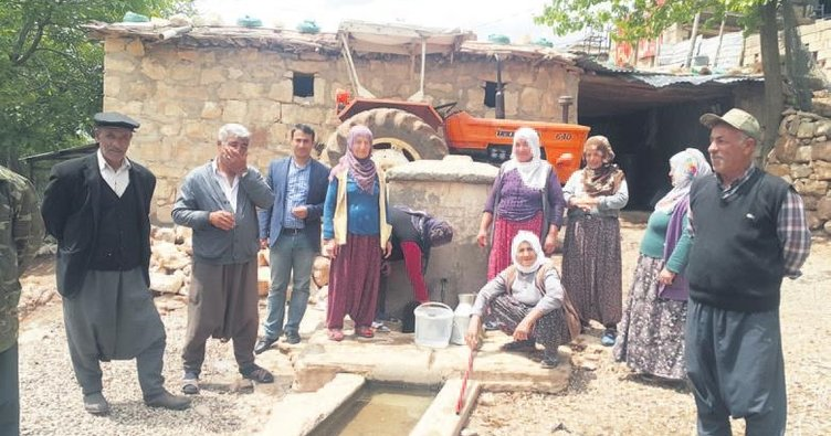 31 yıllık su hasreti sona erdi