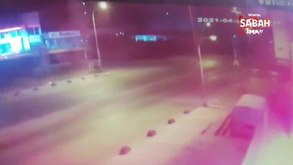 Bağcılar'da ambalaj fabrikasındaki patlama kamerada   Video