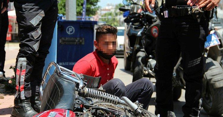 Antalya'da yakalandı! Yaşı: 13 suç kaydı: 170