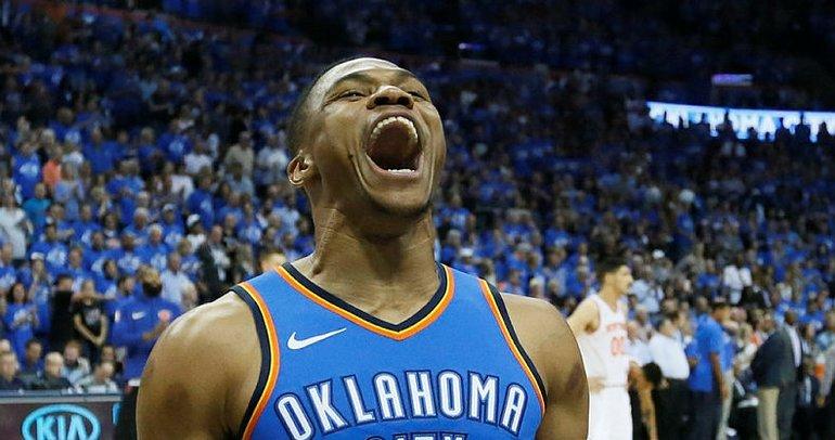 Westbrook, şova kaldığı yerden devam ediyor