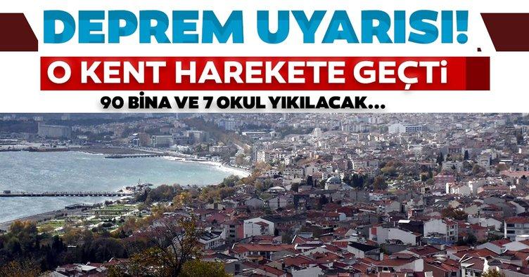Son dakika haberi: Prof. Ahmet Ercan beklenen Marmara depremi için uyarmıştı! 90 bina ve 7 okul için yıkım kararı alındı