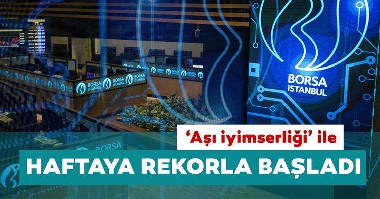 Borsa İstanbul haftaya rekorla başladı
