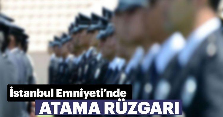İstanbul Emniyeti'nde atama rüzgarı