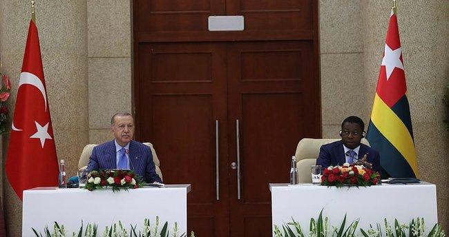 Togo, Başkan Erdoğan'ın ziyaretini yakından izledi
