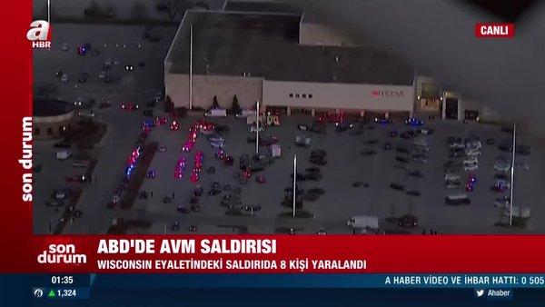 Son dakika! ABD'de AVM saldırısı: En az 8 kişi yaralandı | Video