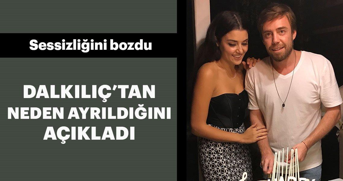Şarkıcı Murat Dalkılıç ve Hande Erçel sürpriz bir kararla yollarını ayırmıştı. İddiaya göre; Murat Dalkılıç, Hande Erçel'i yabancı uyruklu iki kadınla aldattı. İhaneti öğrenen Hande Erçel Murat Dalkılıç'ı terk etti. İşte Hande Erçel'den iddialara yanıt...