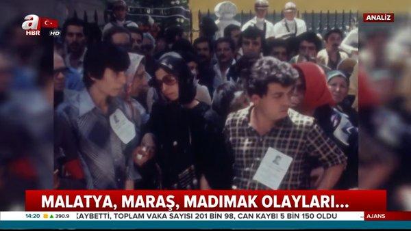 Hep aynı oyun: Mezhep provokasyonu! İşte Malatya, Maraş, Madımak olayları... | Video